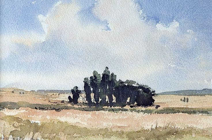 Arie Jekel | Fuentesauco | Watercolor