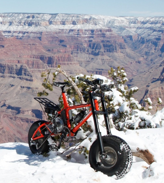 HANEBRINK III Full Suspension All-Terrain Electric Bicycle