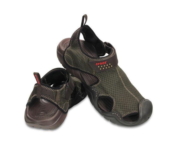 Crocs Men's Swiftwater Sandal espresso  54,99 ΕΥΡΩ