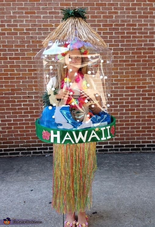 Snow Globes New Orleans and Hawaii Halloween Costume