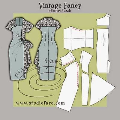 well-suited: Pattern Puzzle - Vintage Fancy