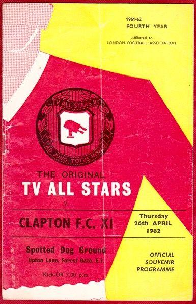 Clapton FC programme 1961
