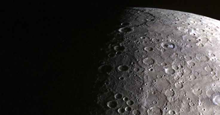 Here's why the surface of Mercury is so dark: What you're seeing is the aftermath of the tiny planet growing up.