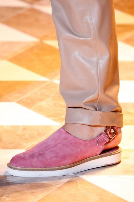 Versace | Spring 2015 Menswear Collection | Style.com #footwear