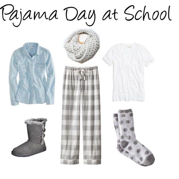 Teacher Dress Up Pajama Day At School