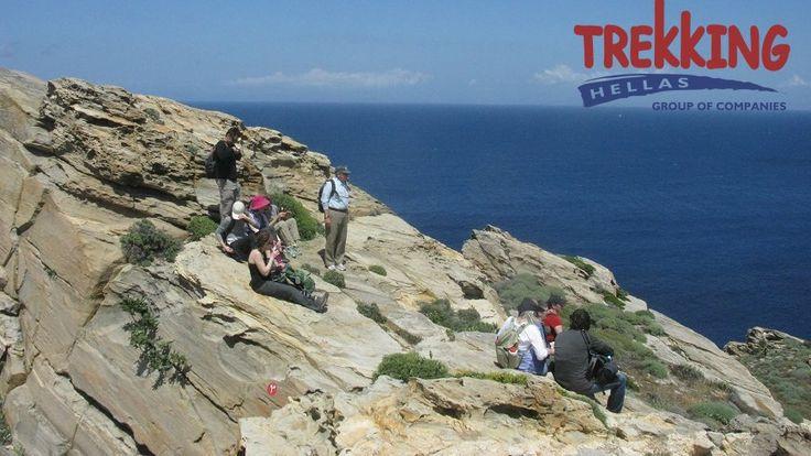trekking in Paros