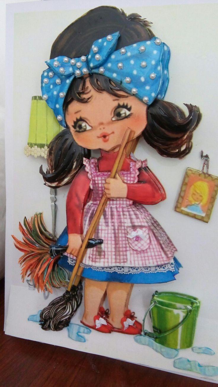 Mürşide hanımın kağıt rölyef çalışması-Sümbül Eldek