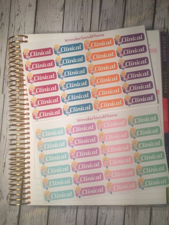 Hey, I found this really awesome Etsy listing at https://www.etsy.com/listing/267688002/nursing-school-clinical-stickers-blonde