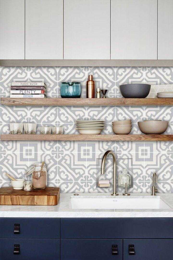 Alba Wallpaper Kitchen Trends Kitchen Tiles Kitchen Design