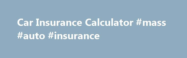 car insurance estimator india