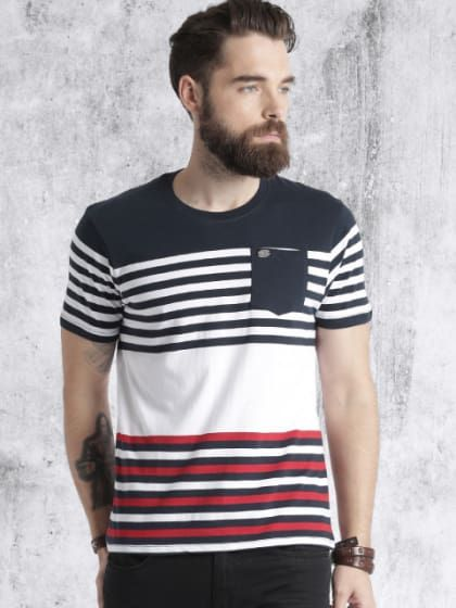 Casual Cotton Blend T Shirt In 2019 Tshirts For Men All Types