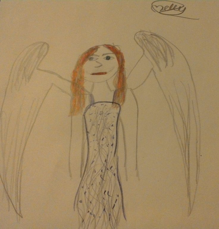 """An Artwork done by Molly_Jane55 """" Angel"""""""