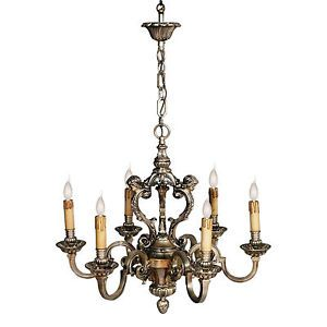 Liberty vintage chandelier in silver bronze