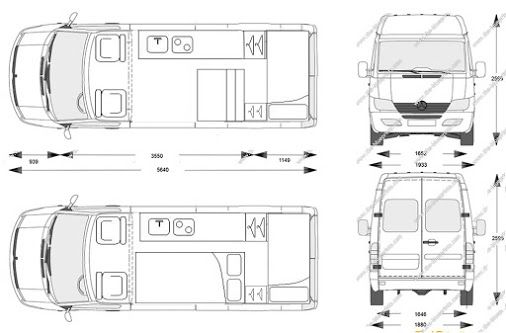 Mercedes Sprinter Dimensions Mwb Google Search Ground Transport Pinterest Mercedes