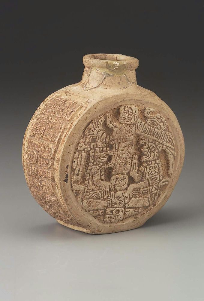 MIniature bottle Maya , A.D. 650–800. -1