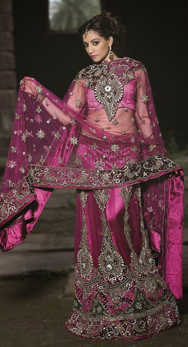 Splendorous Pink #Lehenga Choli