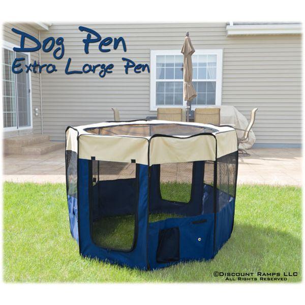 Extra Large dog pen