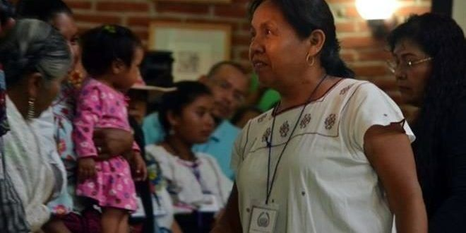 Indígenas eligieron a María de Jesús Patricio Martínez como su posible candidata a la Presidencia de la República para 2018. La mujer indígena fue nombrada hoy vocera del Concejo Indígena de Gobierno (sic) y también los representará en los comicios del próximo año. Después de 25 horas de discusión 1 mil 482 delegados, concejales y observadores, el CNI y el EZLN hicieron pública la designación. Los Pueblos Originarios también conformaron el Concejo Indígena de Gobierno para México.
