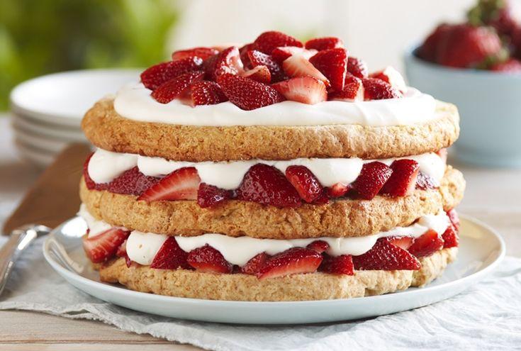 Driscoll's Favorite Stawberry Shortcake www.driscolls.com  #DriscollsSweepstakes
