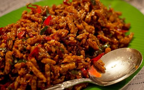 Recipe Cook Sweet & Spicy Tempe
