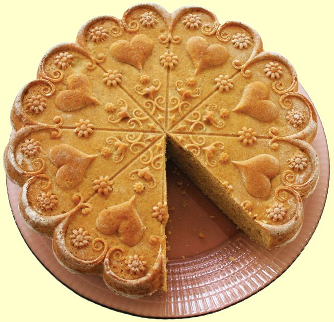 valentine day king cake
