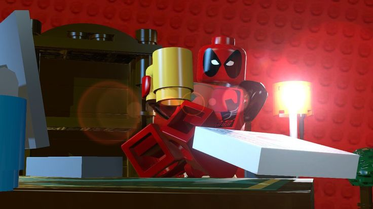 Lego Marvel Superheroes, Deadpool stories.