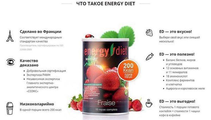 Худеют ли с энерджи диет