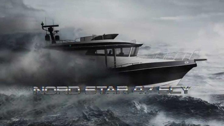 Моторная яхта Nord Star 47 Patrol SCY - Премьера в 2016 году