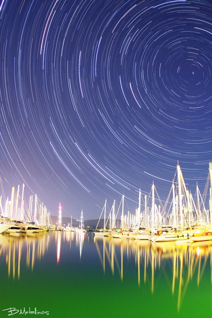 Marina Gouvia under the Stars - Marina Gouvia under the Stars  Glamours stellar traces with peace and beauty above Gouvia Marina, Corfu