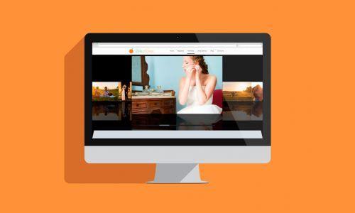 Página Web de Media Naranja - Fotografía y Vídeo de Boda