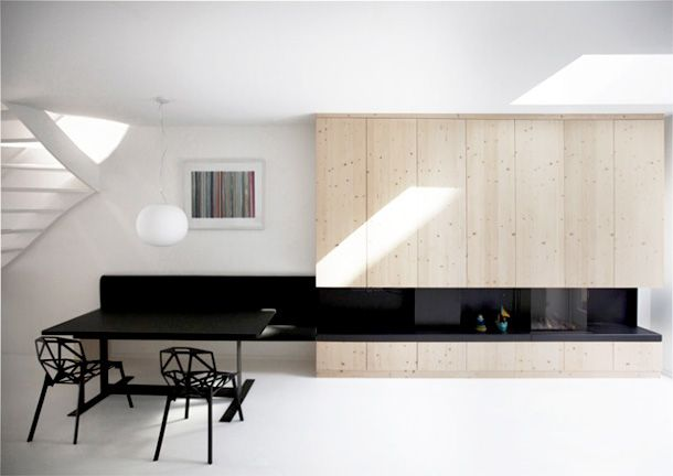 Another beautiful white minimal interior.  Designed by: i29