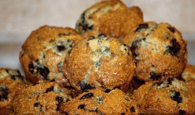 LCHF recept för Blåbärsmuffins