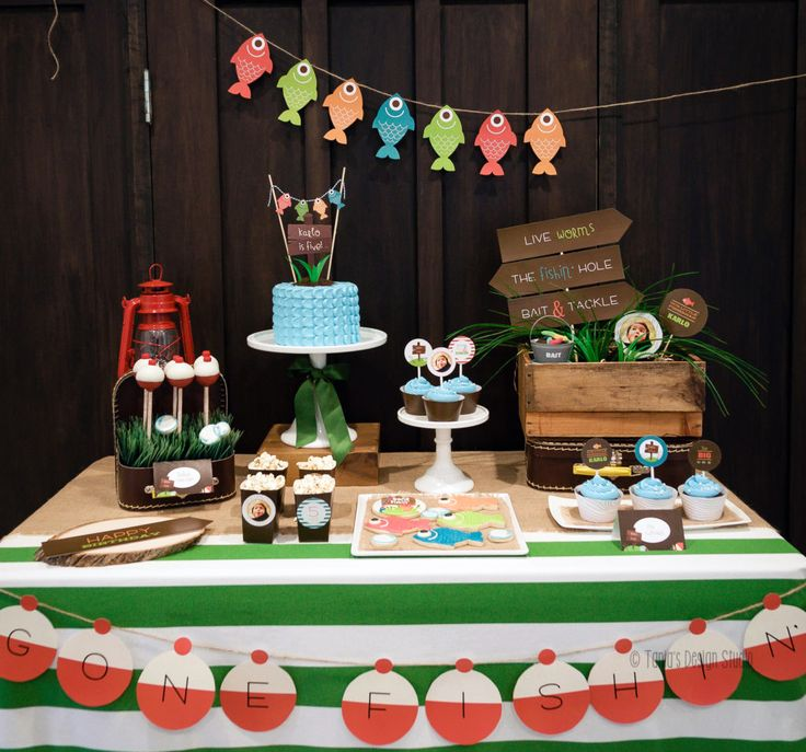 Project Nursery - Fishing Themed Birthday Party - Project Nursery