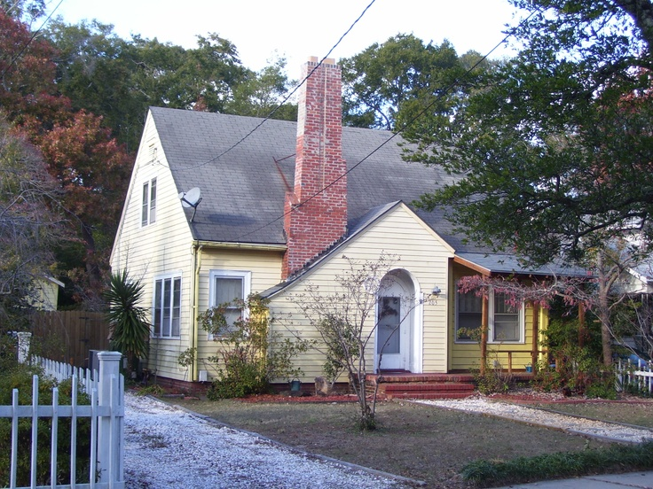 The Chimney On Front Of House And Catslide To Left