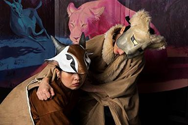 """""""Beloved Prey,"""" a children's opera about an unusual and enduring friendship between a lioness and an antelope, makes its Central New Jersey premiere at Mercer County Community College's Kelsey Theatre on Saturday, Sept. 24, 2016."""