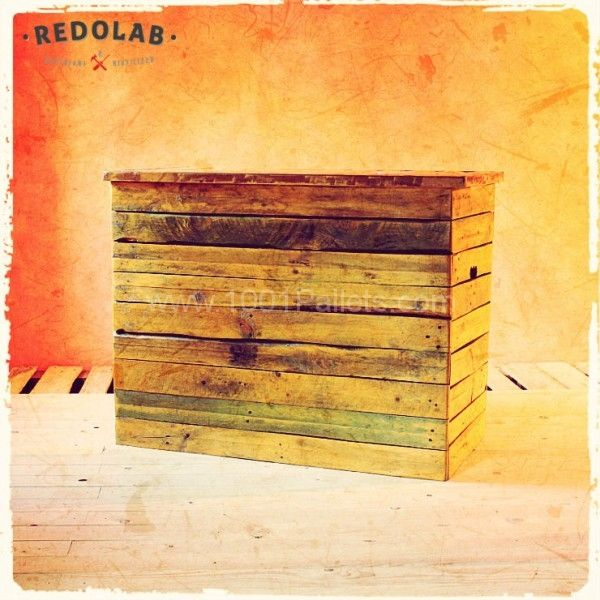 cassapanca pallet settle by redolab f2 600x600 Pallet Table and box in pallet furniture  with wood upcycling reuse recycling pallet