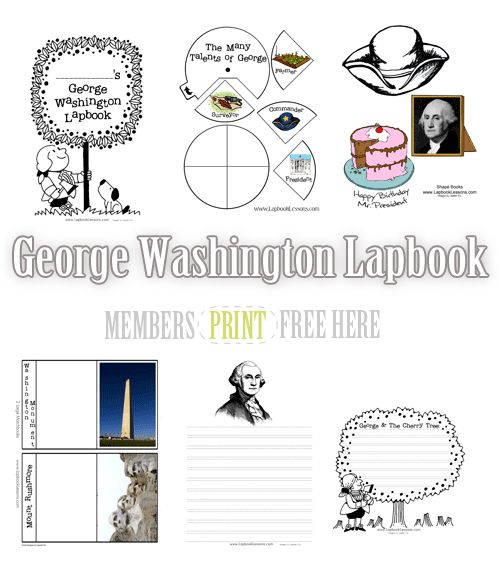 Suggested Resources:         Our George Washington Lapbook is available free to our newsletter subscribers. This unit is filled with printable minibooks you can use to keep track of…