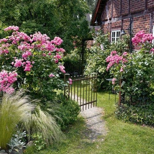 27 besten Garten Bilder auf Pinterest Landschaftsbau - bauerngarten anlegen welche pflanzen