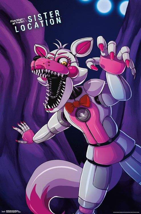 Five Nights At Freddy's: Sister Location - Funtime Foxy