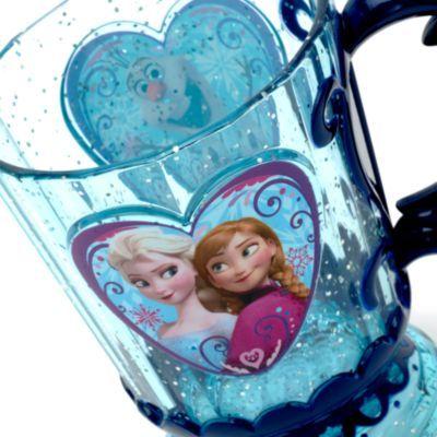Taza con icono de Frozen: El Reino de Hielo