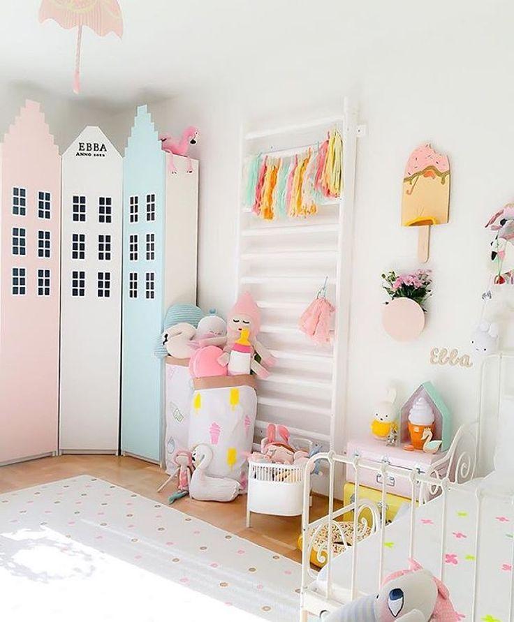 Kids room pastels