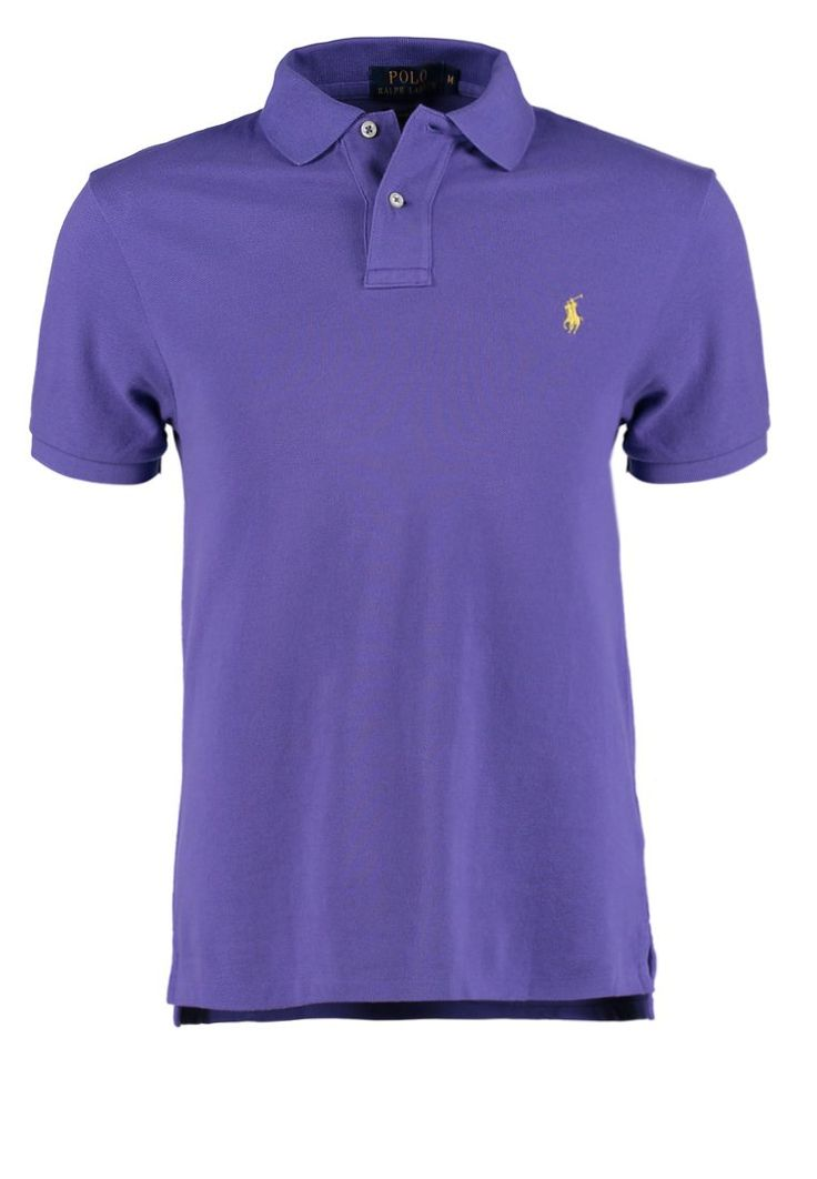 Polo Ralph Lauren - SLIM FIT - Koszulka polo - sutton purple