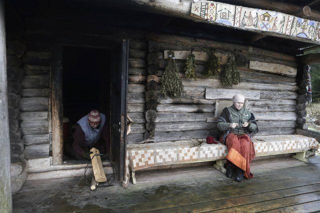 sauna de humo en Estonia