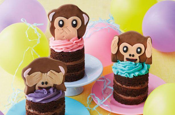 Emoji monkey cupcakes - goodtoknow