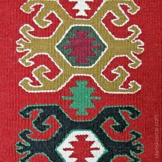 Traditional Serbian knitted bag with ethno art ornaments - Google Search