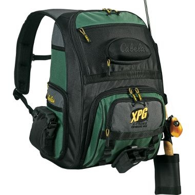 Cabela 39 s xpg pro series angler pack at cabela 39 s the for Pro fishing gear