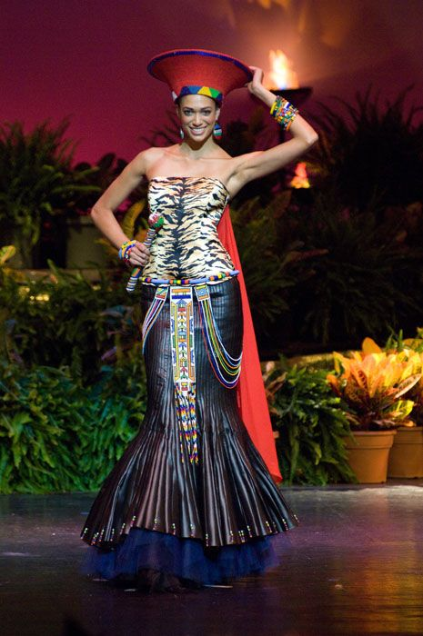 African Wedding Gowns | ... – African Queens in National Costume & Evening Gown Presentations