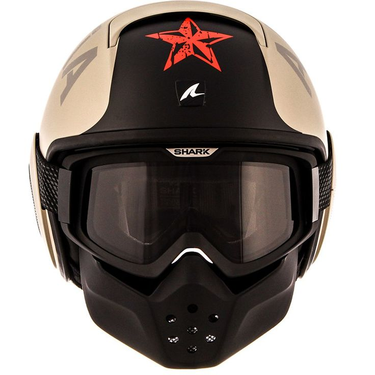 Casco Shark RAW SOYOUZ MAT