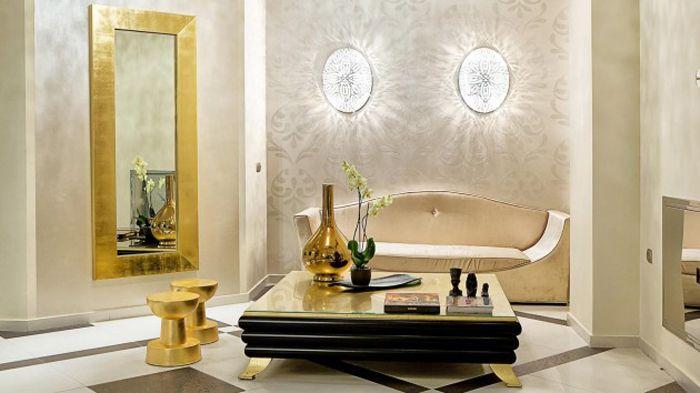 Современный дизайн, ЗОЛОТЫЕ ПОВЕРХНОСТИ, ЗОЛОТО, мебель, современная мебель, дизайн мебели, производители мебель класса люкс, дизайн интерьера, винтажные торшеры, современное освещение, уникальные светильники
