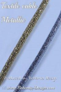 Textilní kabel Metalický 2 x 0,75 mm2